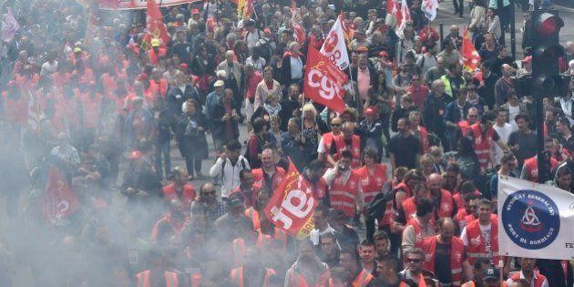 Manifestations du 26 mai: les premiers chiffres de la mobilisation contre la loi