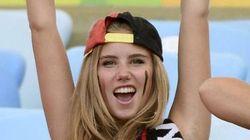 Cette supportrice belge a décroché un contrat chez