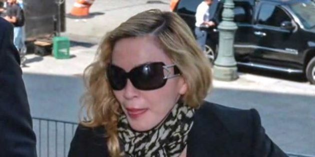 Madonna a été appelée pour être juré, avant d'être