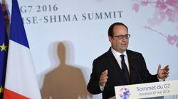Depuis le Japon, Hollande promet de tenir bon et de garantir