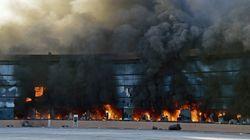 Des Mexicains incendient un bâtiment officiel après la disparition de 43