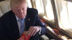 Pour célébrer ses 1237 délégués, Trump s'est fait un
