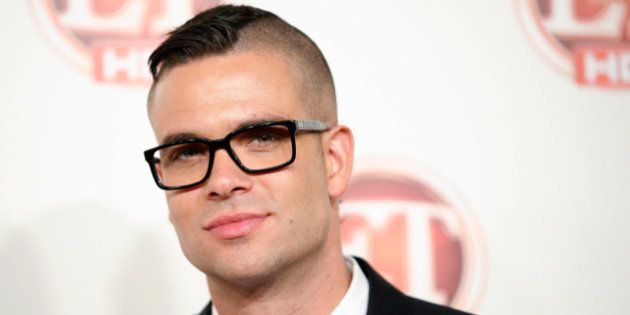 U.S. actor Mark Salling arrives at the Entertainment Tonight Emmy Party in Los Angeles, California, U.S....