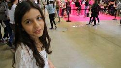Adèle, 11 ans, vous fait visiter le salon des YouTubeuses