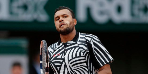 Tennis - French Open - Roland Garros - Jan-Lennard Struff of Germany vs Jo-Wilfried Tsonga of France...