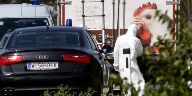 Migrants: plus de 70 corps retrouvés dans un camion en bordure d'autoroute en