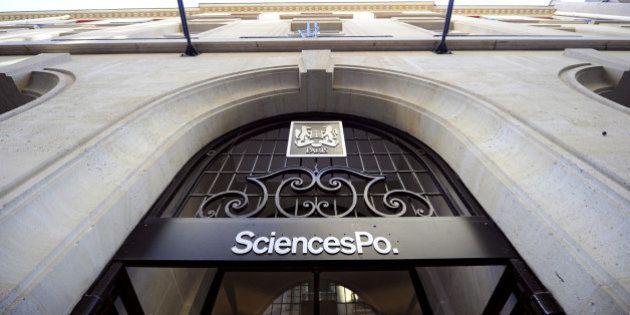Une antenne du Front national à Sciences Po Paris à la rentrée