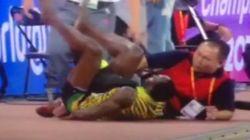 VIDÉO - Usain Bolt renversé par un Segway juste après son incroyable