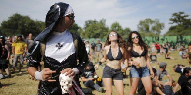 PHOTOS. Hellfest 2015 : les looks les plus improbables vus sur le festival de