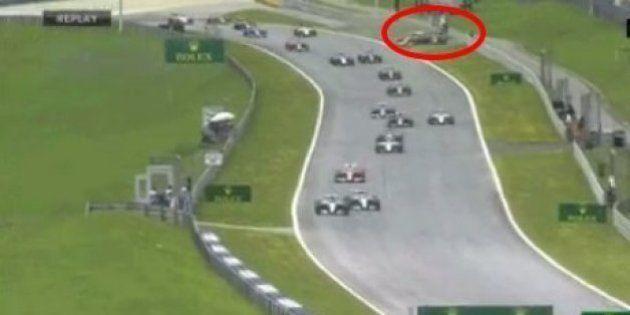 VIDÉO. Grand Prix d'Autriche: impressionnant accrochage entre Räikkönen et Alonso, un miraculé sur la