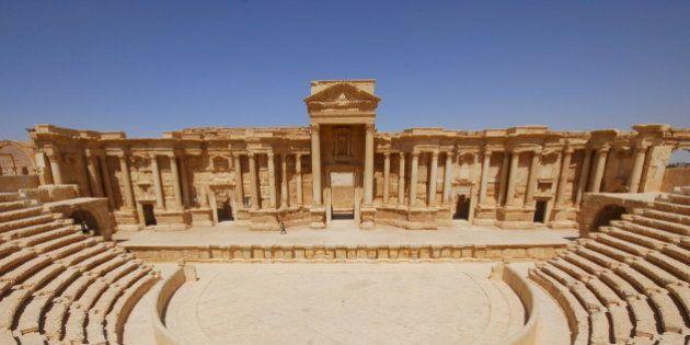 L'État islamique a truffé d'explosifs la cité antique de