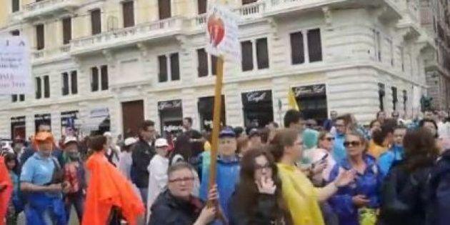 Comme en France, on s'écharpe sur le comptage des manifestants contre le mariage gay en