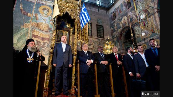 Poutine au mont Athos: humiliation stratégique du président