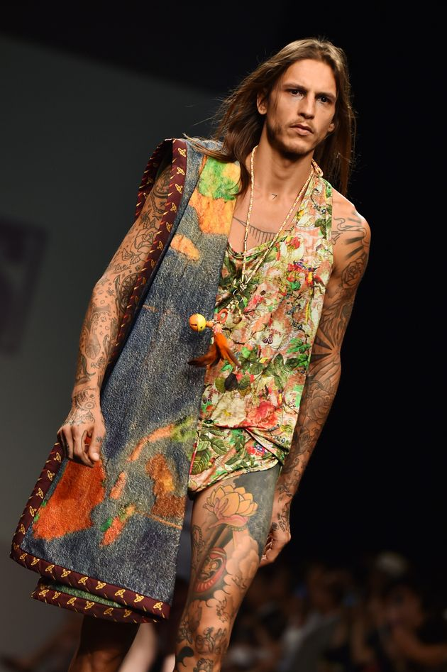 À la Fashion Week homme, un festival de sous-vêtements masculins : le slip, le boxer et même le