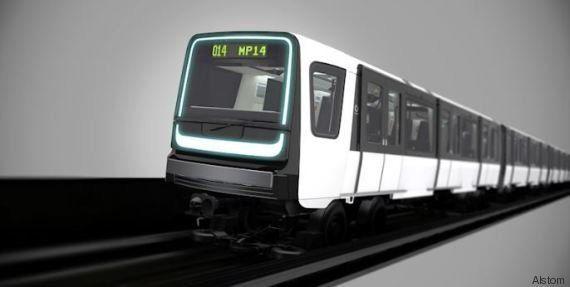 Découvrez à quoi ressembleront les nouvelles rames de la Ligne 14 du métro à