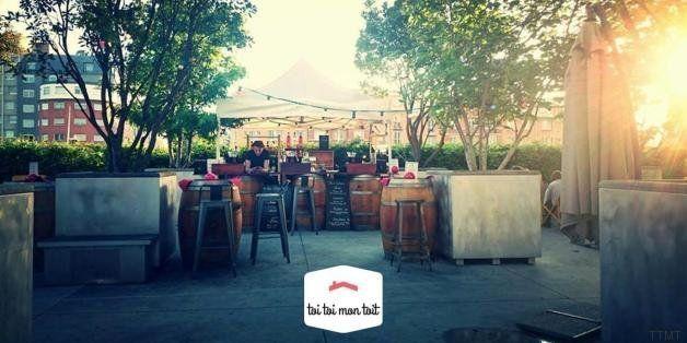C'est l'été : le top 5 des cafés et bars rooftop de