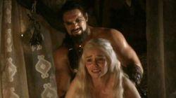 Pendant cette scène de viol, Khaleesi a failli avoir un fou
