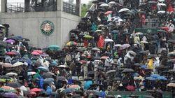 Sans toit, Roland Garros annule une journée pour la première fois depuis