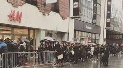 Les magasins H&M pris d'assaut (et le site