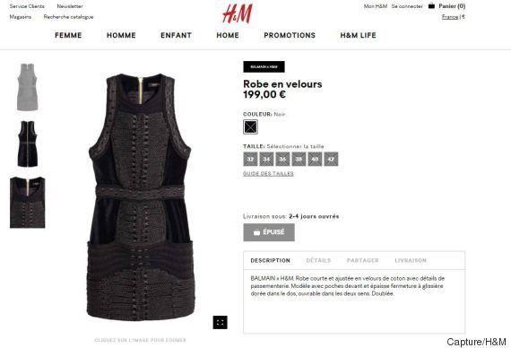 Les magasins H&M pris d'assaut (et le site dévalisé) pour le lancement de la collection Balmain x