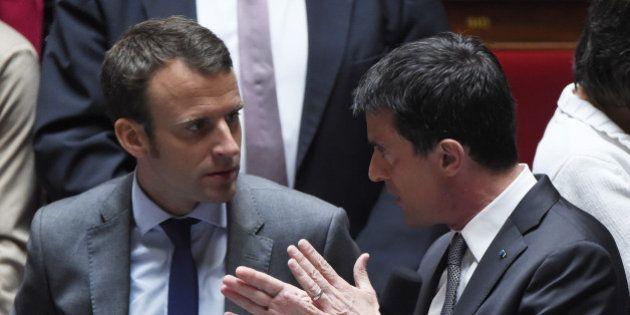 Manuel Valls recadre Emmanuel Macron sur les 35