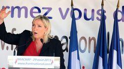 Marine Le Pen agite la