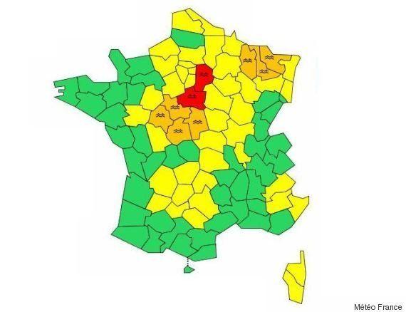 VIDÉOS. Après le Loiret, la Seine-et-Marne passe en vigilance rouge