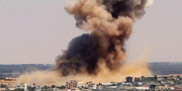 Conflit israélo-palestinien: raids aériens et tirs de roquettes s'intensifient dans la bande de