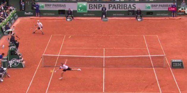 VIDEO. Le point qui résume l'impuissance de Richard Gasquet face à Andy Murray à