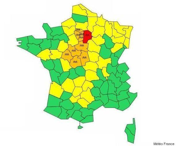 Inondations : l'alerte rouge maintenue en Seine-et-Marne, la Seine en vigilance orange à