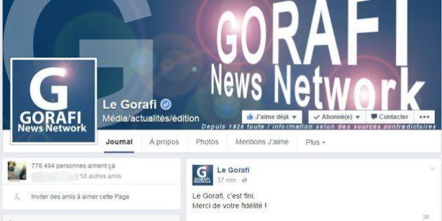 Le Gorafi c'est fini ? Le site annonce sa fin sur les réseaux sociaux,