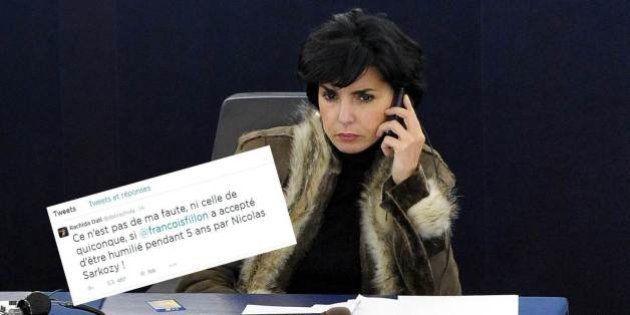 Sur Twitter, Rachida Dati attaque Fillon et le triumvirat après un article du