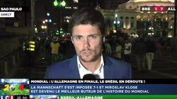 Un journaliste de LCI en direct de Sao Paulo a fait peur à sa