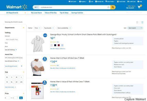 Tuerie de Charleston: Walmart retire tous ses produits avec le drapeau