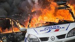 Voiture de police brûlée: deux suspects restent libres, trois autres