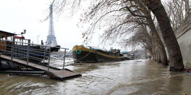 La Seine devrait atteindre vendredi son plus haut niveau depuis le début des inondations à