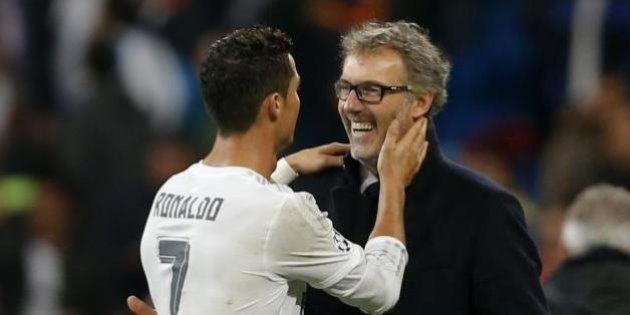 Le Parisien pense savoir ce qu'a murmuré Cristiano Ronaldo à Laurent Blanc lors de