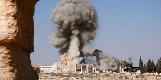 Palmyre: Daech fait exploser une partie du temple de Bêl, considéré comme le plus important de la cité