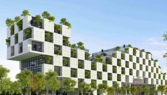 Découvrez les 33 bâtiments du futur de