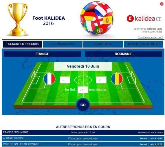 Euro 2016 : les concours de pronostiques de ces entreprises ringardisent le fichier Excel entre