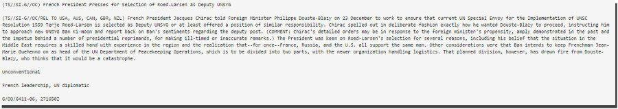 Wikileaks sur les présidents français espionnés: L'intégralité des 5 notes traduites en