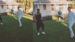 Justin Bieber joue mieux au foot que Neymar ne chante ses