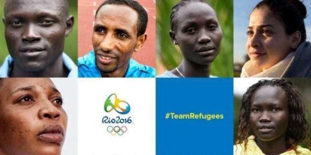 VIDÉOS. Découvrez la 1ère équipe de réfugiés de l'histoire des jeux