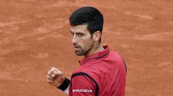 Djokovic a fait la loi sur le court (et en tribunes) en