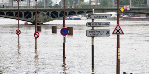 À Paris, la décrue sera lente et ne commencera que la semaine