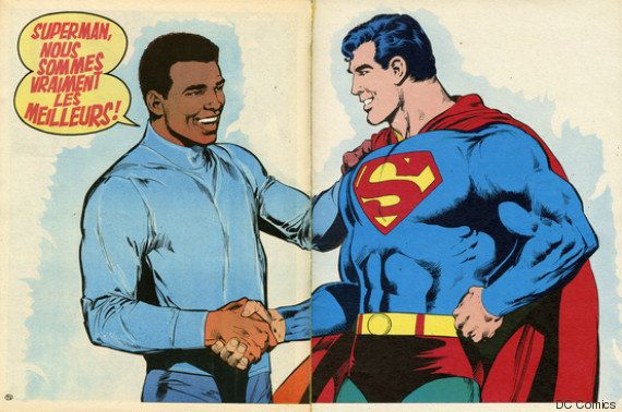 Quand Cassius Clay alias Mohamed Ali affrontait Superman pour DC