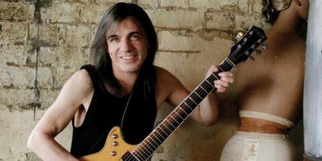 AC/DC: Malcom Young, le guitariste du groupe australien, est à