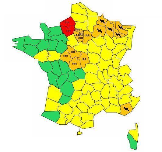La crue se déplace vers l'ouest, l'Eure et la Seine-Maritime en alerte