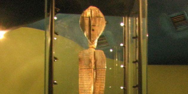 L'idole de Shigir devient l'oeuvre artistique la plus ancienne de la civilisation