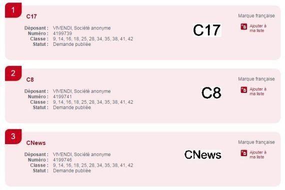 Canal+: D8, D17 et iTélé pourraient bientôt changer de nom pour